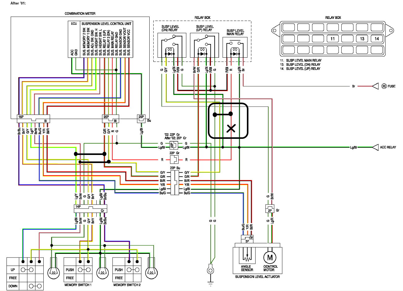 circuit diagram how can i re wire the pre load adjusters gl1800riders f6b wiring diagram at soozxer.org