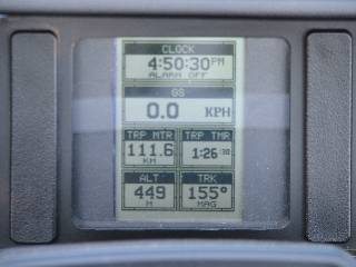 gps standard screen