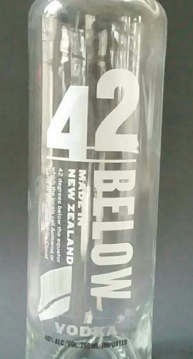 vodka 42 below